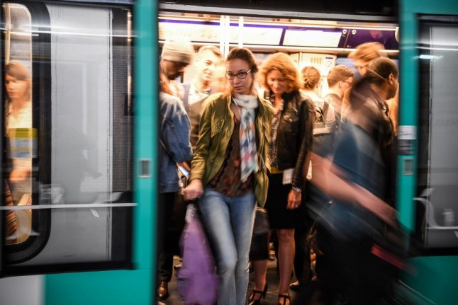 Paris commuters face travel misery to get home as strike brings transport to a halt