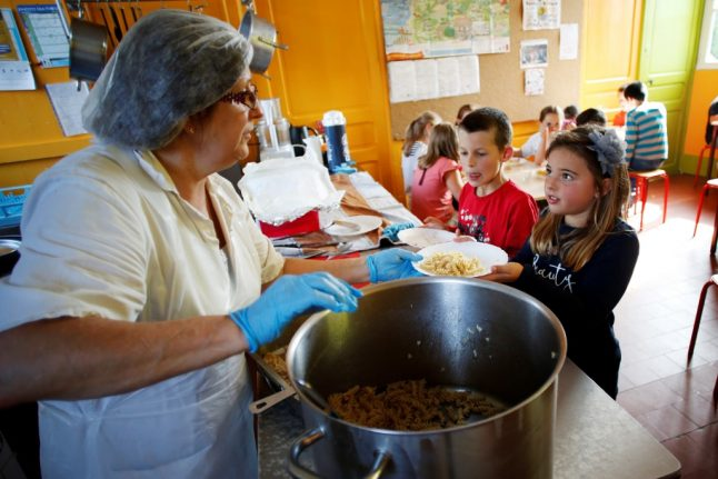 Why French school dinners are going vegetarian – at least for one day a week