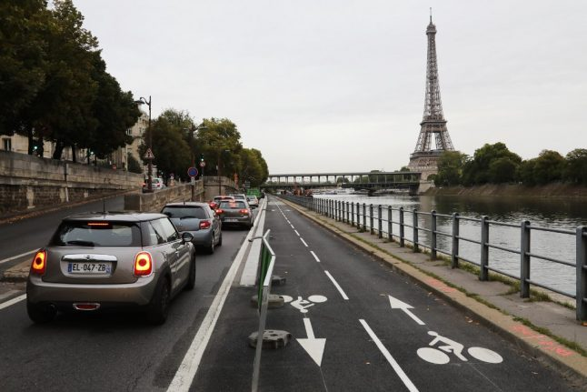 Noise traps to crack down on boy racers in Paris