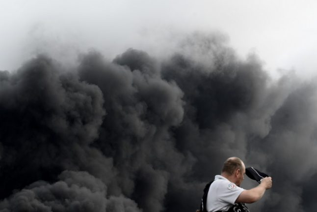 French chemical factory explosion - what we know so far