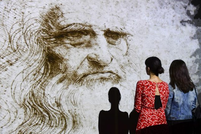A missing painting, crowd trouble and an international spat . . . but Da Vinci exhibition is now set to open in Paris