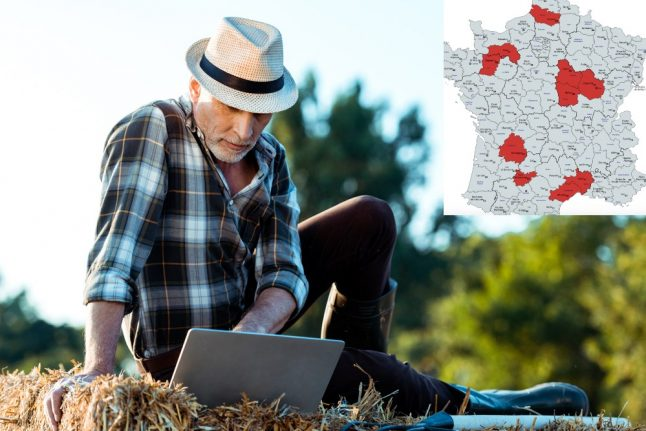 The ten rural French departments set to finally get high-speed internet