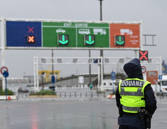 Migrants found suffering from hypothermia inside lorry at French port