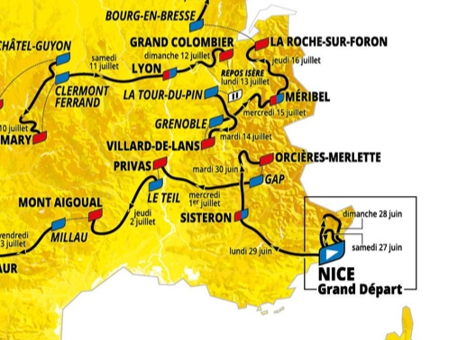 REVEALED: Discover the route of the 2020 Tour de France