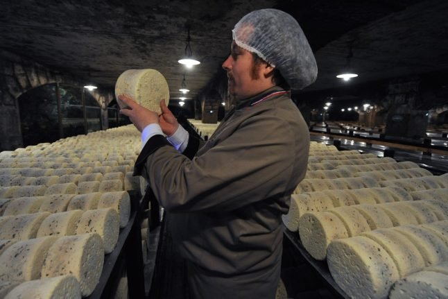 US slaps extra tariffs on French goods - but Roquefort cheese is spared