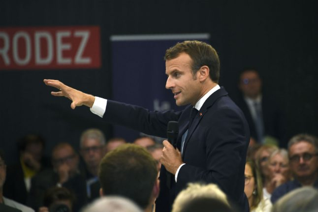 Macron: 'No escape' for Google from French copyright law