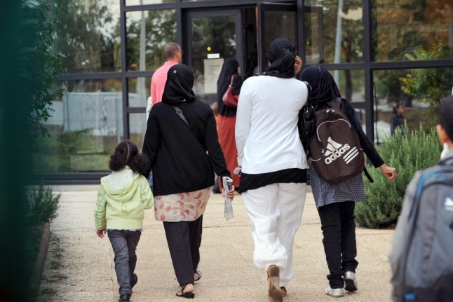 France embroiled in new Muslim dress row after mother on school trip told to remove hijab
