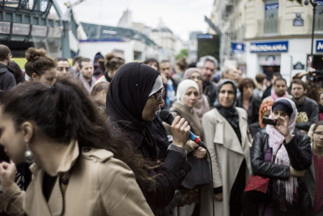 'It's not secularism, it's racism': Muslim mum at centre of French hijab row to sue politicians