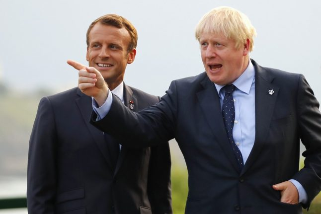 Macron to Johnson: 'You have one week to negotiate Brexit deal that respects EU'