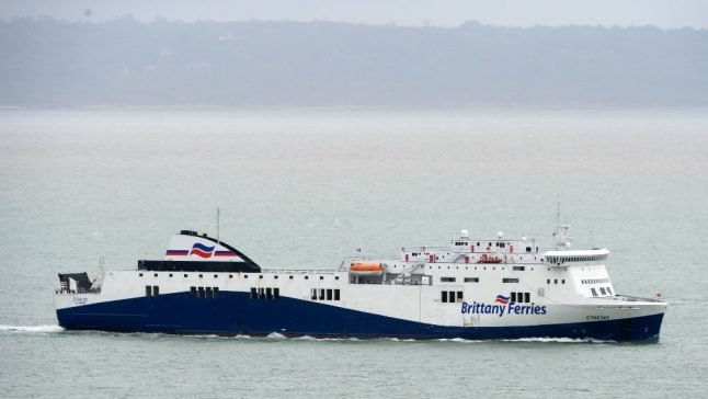 Brittany Ferries to guarantee 'sufficient' vessels in case of 'no-deal' Brexit