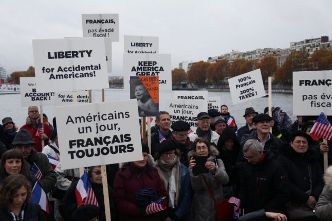 'Accidental Americans' sue France over tax deal