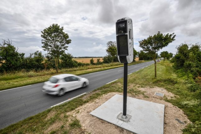 Speed cameras in France now detect if your car has insurance