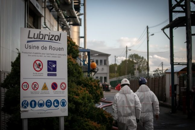 Map: Where are all the high risk chemical plants in France?