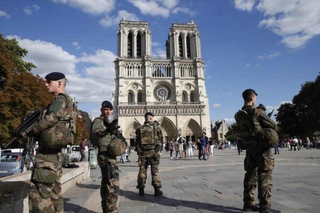 French female jihadist gang sentenced to up to 30 years in jail for failed Notre Dame attack