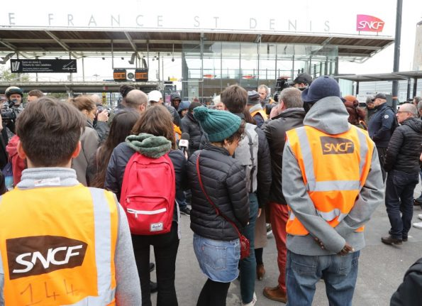 French rail operator SNCF begins cancelling trains ahead of major strike