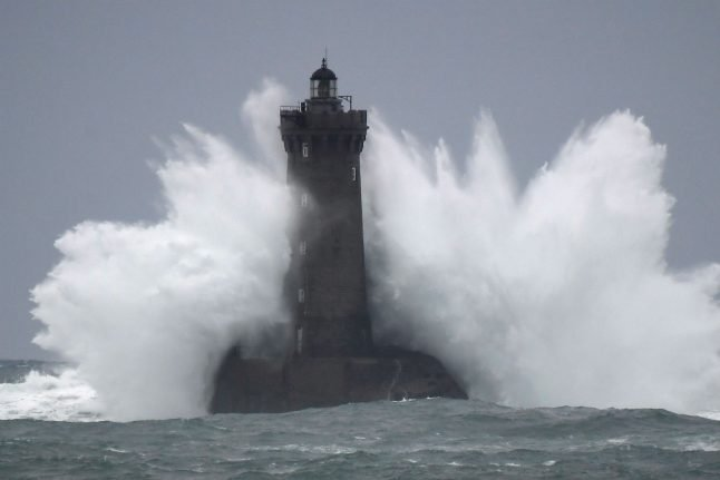 Storm Amelie pummels France with gales and torrential downpours