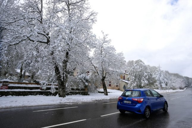 Icy blast heads for France as temperatures tumble