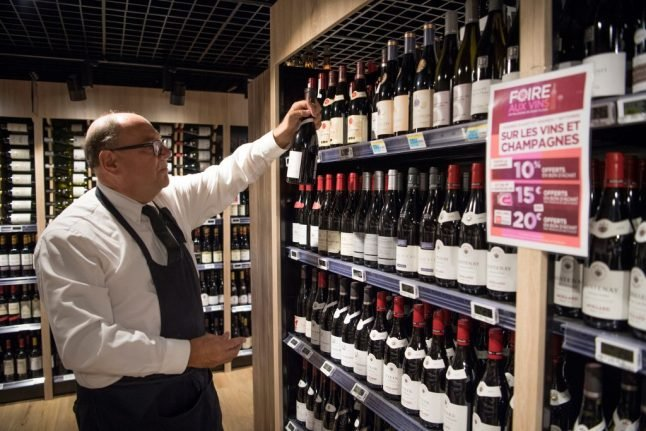 Eight tips on buying wine in a French supermarket