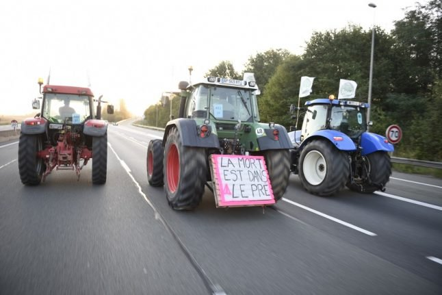 Why 1,000 tractors are converging on Paris