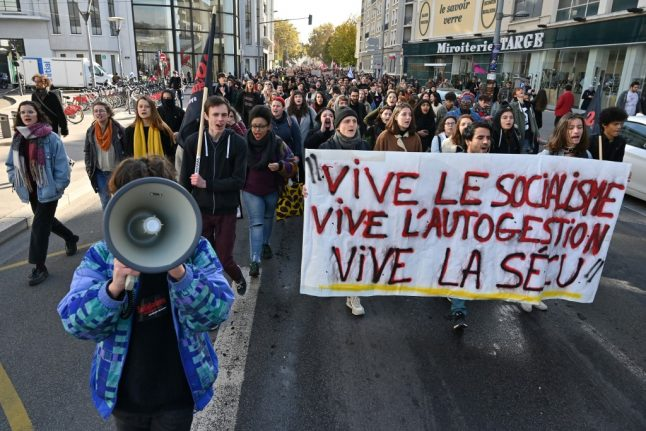 'Almost half of French students have to get jobs while they study'