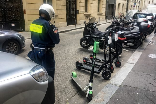 Paris to cut number of electric scooter companies to just three