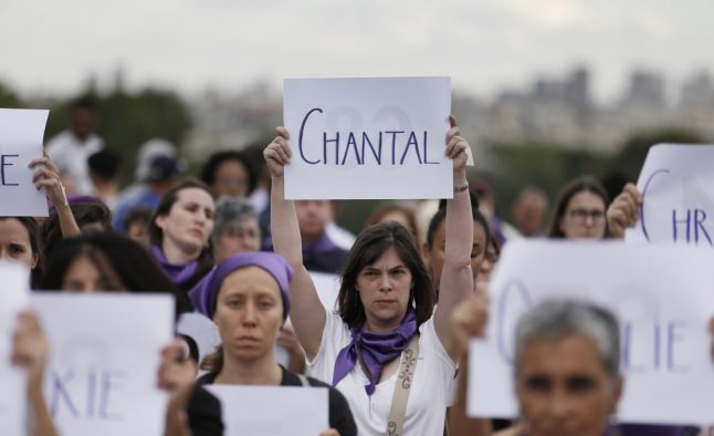 Why are French women taking to the streets on Saturday?