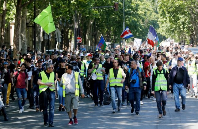 Marches and road blocks: How France's 'yellow vests' plan to mark their anniversary