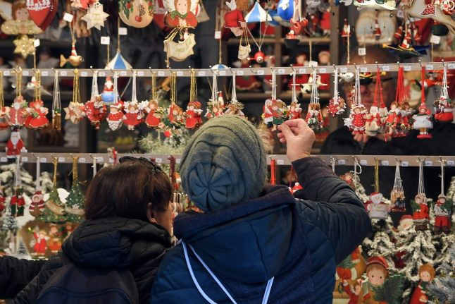 Strasbourg Christmas market reopens, one year after attack that shocked France