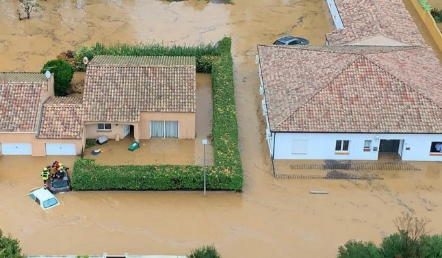 Authorities in 43 French départements declare state of natural disaster