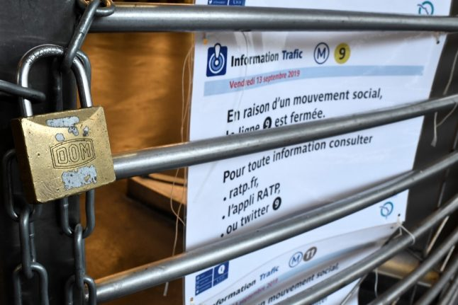 December strikes in France: Transport firms to draft in reserves but will 'sacrifice' weekend services