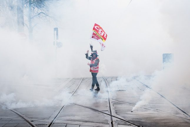 French unions: 'We won't stop the strikes until the government caves'