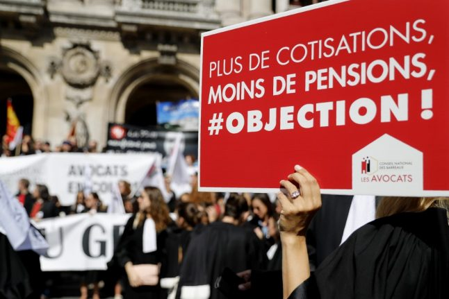 EXPLAINED: What are France's special pension regimes and why are the French striking to protect them?