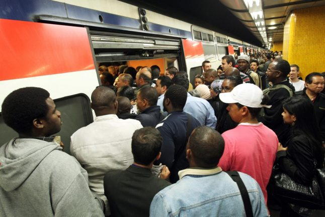 Strikes in France: Paris woman gives birth on RER commuter train during rush hour crush