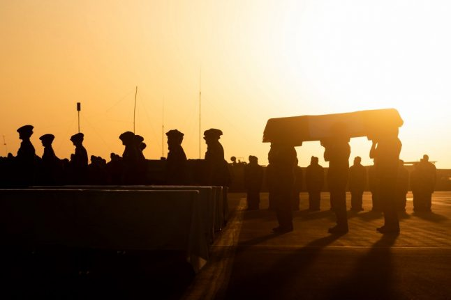 IN PICTURES: France honours the 13 soldiers killed battling jihadists in Mali