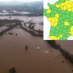 Southeast France on red alert again as 'dangerous' floods and heavy rainfall storm in