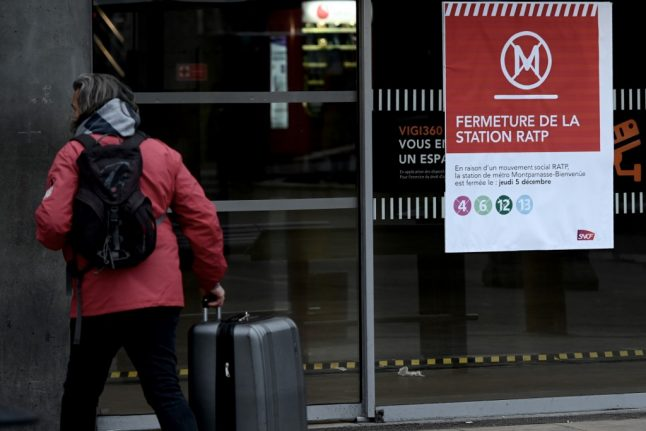 France strikes: Only two Paris Metro lines closed but disruption continues