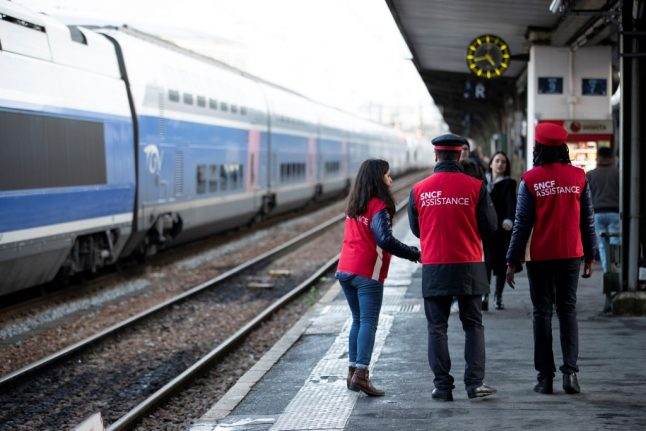 These are the train services running in France until December 29th as strikes continue