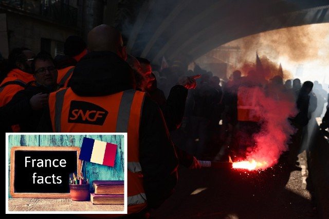 France Facts: There has been a rail strike every year since 1947