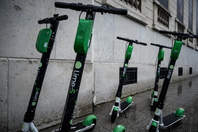 Climate activists sabotage electric scooters in French cities