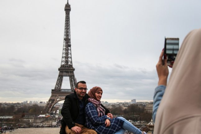 'I've walked about 20km': Paris Metro strikes help tourists see a new side of French capital