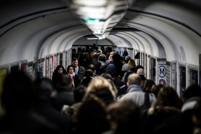 Strikes in France continue on Friday but Paris transport turmoil eases...slightly