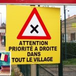 France Facts: You have to give way from the right, except when you don't