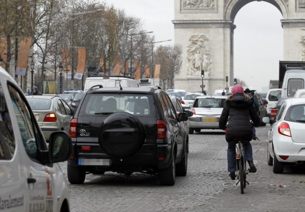 Paris driver arrested for stabbing two pedestrians in 'row about walking on road'