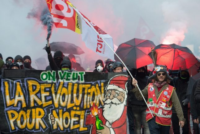 Strikes in France: What you need to know about the protests and travel disruption on Tuesday