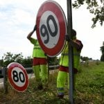 EXPLAINED: The parts of France where speed limits are returning to 90km/h