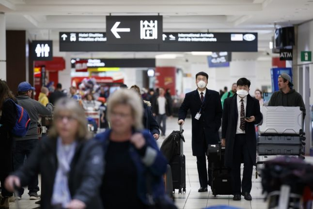 Air France suspends all flights to China over coronavirus fears