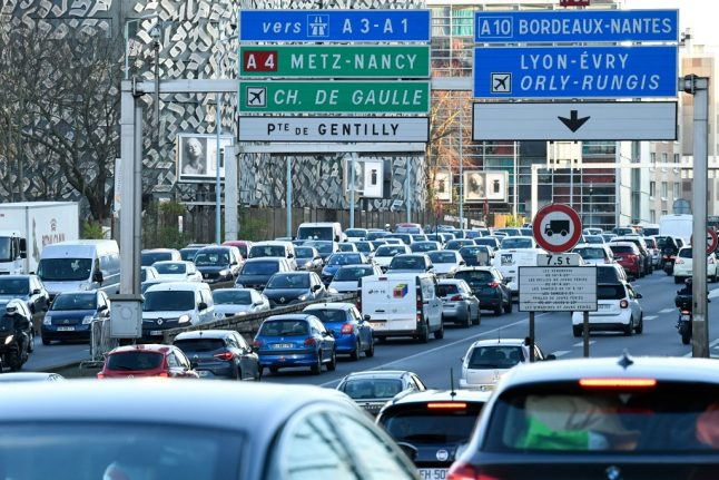 The cost of registering a car in France