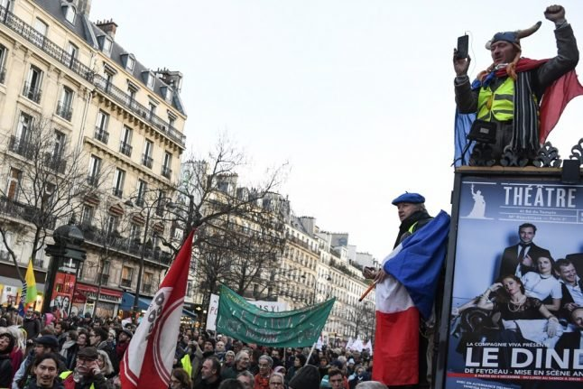 French transport strikes move into 40th day despite government compromise on pensions