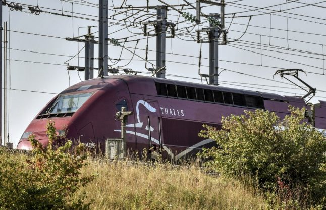'Aggressive' man arrested on Amsterdam to Paris train after causing panic