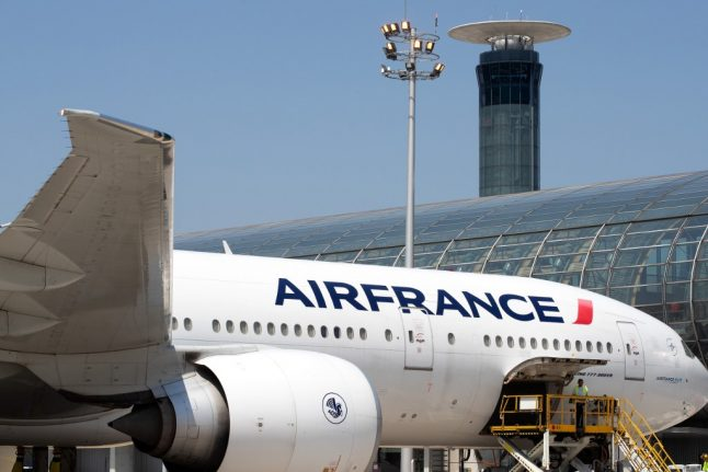 Child found dead at Paris airport in undercarriage of Air France plane